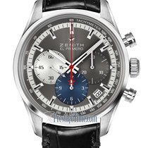 Zenith El Primero Steel 38mm Grey United States of America, New York, Airmont