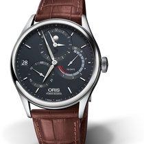 Oris CULTURA ARTELIER CALIBRE 112 Steel-Blue Dial-Brown Leather