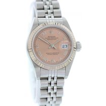 Rolex Oystel Perpetual Datejust 79174 Stainless Steel Pink Dial