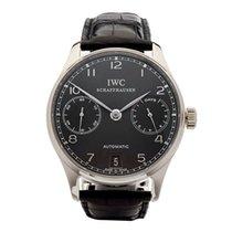 IWC Portuguese Automatic Белое золото 42mm Cерый Aрабские