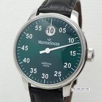 Meistersinger Salthora Meta Steel 43mm Green