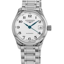 Longines Steel Automatic Silver 25.5mm new Master Collection