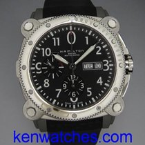 Hamilton Khaki Navy BeLOWZERO pre-owned 46mm Steel