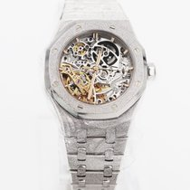 Audemars Piguet Royal Oak Double Balance Wheel Openworked 15466BC.GG.1259BC.01 2018 new