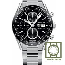TAG Heuer Carrera Calibre 16 Steel 41mm Black
