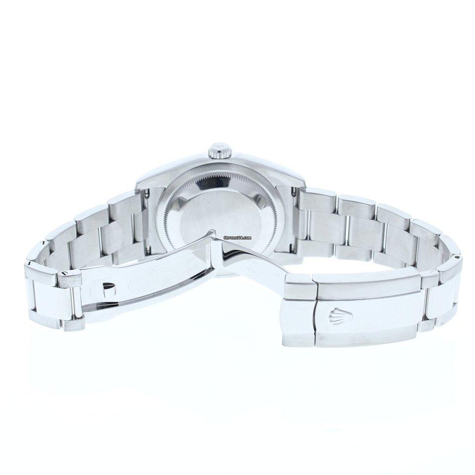 22af544c46a Rolex Datejust 116234 Oyster Band Silver Motif Arabic Dial  ... por 5.795 €  para vender por um Seller na Chrono24