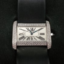 Cartier Tank Divan new 2013 Quartz Watch with original box and original papers WA301271