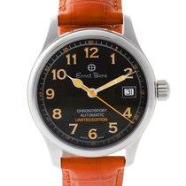 Ernst Benz Chronosport 30286A stainless steel Black dial 36mm...
