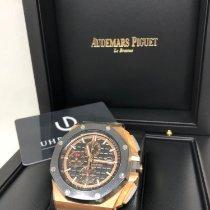 Audemars Piguet Royal Oak Offshore Chronograph Roségold 44mm Schwarz Keine Ziffern Schweiz, Opfikon / Zürich