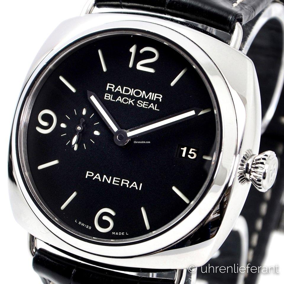 9b7d00c0ea9 Panerai Radiomir Black Seal 3 Days Automatic - all prices for Panerai  Radiomir Black Seal 3 Days Automatic watches on Chrono24