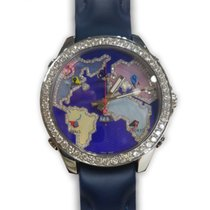 Jacob & Co. Five Time Zone Stahl Violett