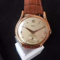 Ebel Rose gold Manual winding 34mm pre-owned