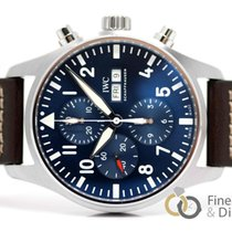 IWC Pilot Chronograph nuevo 2019 Automático Cronógrafo Reloj con estuche y documentos originales IW377714