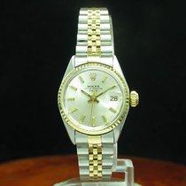 Rolex Oyster Perpetual Lady Date 24.6mm Silber Deutschland, Elsdorf-Westermühlen