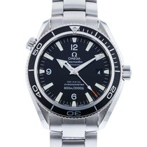 Omega 2201.50.00 Staal 2010 Seamaster Planet Ocean 42mm tweedehands