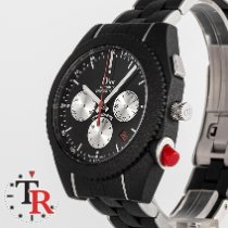 Dior Chiffre Rouge Stal 42mm Czarny