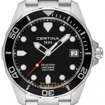 Certina DS Action Zeljezo 41mm Crn