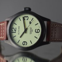 Glycine Steel 44mm Automatic 3821 pre-owned