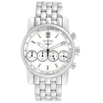 Eberhard & Co. pre-owned Automatic 40mm White Sapphire Glass