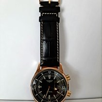 Longines Or rose Remontage automatique Noir occasion Legend Diver