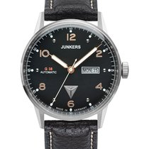 Junkers Steel Automatic Black 42mm new G38