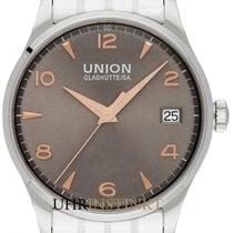 Union Glashütte Noramis Date Steel 40mm Grey