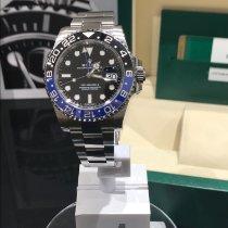Rolex GMT-Master II Stahl 40mm Schwarz Keine Ziffern Schweiz, Suhr