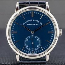 A. Lange & Söhne pre-owned Automatic 38.5mm Blue Sapphire crystal 3 ATM