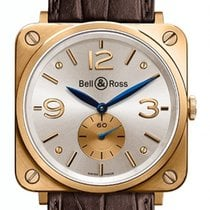Bell & Ross BR S καινούριο 39mm Ροζέ χρυσό