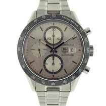 TAG Heuer CV2011 Steel Carrera Calibre 16 41mm pre-owned United States of America, New York, Greenvale