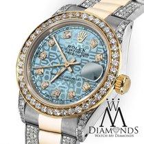 Rolex Lady-Datejust Acero y oro 31mm Azul