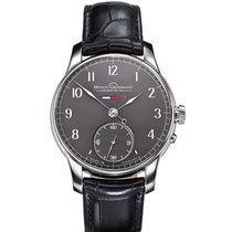 Moritz Grossmann BENU White gold 41mm Grey Arabic numerals