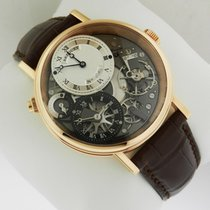 Breguet Tradition GMT Manual Wind 40mm 7067br/g1/9w6 Complete NEW