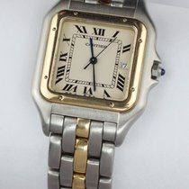 Cartier Panthere Steel and Gold Quartz Men Size