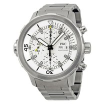 IWC Aquatimer Chronograph IW376802 44mm Silver dial NEW