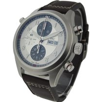 IWC 3718-06 Pilot Double Chronograph Spitfire - Steel on Strap...
