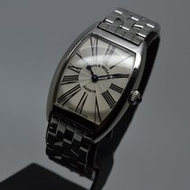 Franck Muller Cintrée Curvex Steel Lady Small Roman with 1...