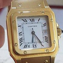 Cartier Santos Automatique Gold 18kt bracelet  Automatic...