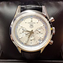 TAG Heuer Carrera Calibre 17 Steel 39mm Silver No numerals United Kingdom, Wilmslow
