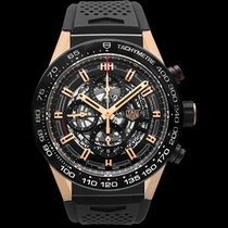 TAG Heuer Carrera Calibre HEUER 01 Rose gold 45mm Black United States of America, California, San Mateo