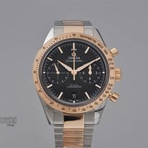 Omega Speedmaster '57 Gold/Steel 41mm Black