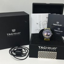 TAG Heuer Connected Titanium Case Rubber Strap SBF8A8001...