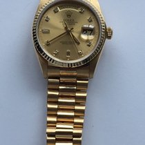 Rolex Yellow gold Automatic 36mm 1980 Day-Date (Submodel)