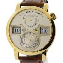 A. Lange & Söhne Lange Zeitwerk Yellow Gold Ref. 140.021