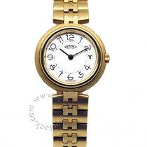 Hermès Oro giallo 25.36mm Quarzo 209124 nuovo Italia, Brescia