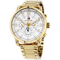 Tommy Hilfiger Briggs White Dial Stainless Steel Men's Watch...