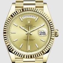Rolex Day-Date 40 Жёлтое золото 40mm