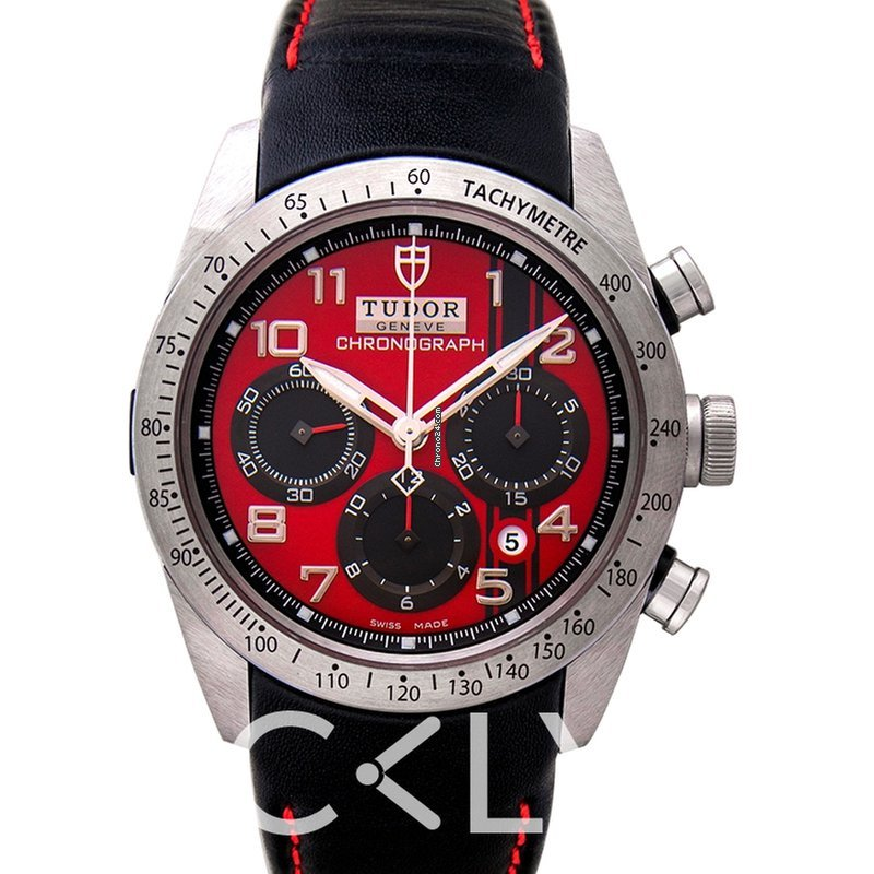 Tudor FastRider Ducati Chronograph Red Steel Leather 42.00 mm... for ... b4fbf2711b5d