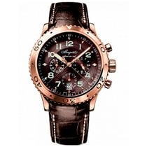 Breguet Type XX - XXI - XXII pre-owned 42mm Rose gold