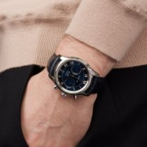 Omega De Ville Co-Axial Staal 42mm Blauw Romeins Nederland, Amsterdam